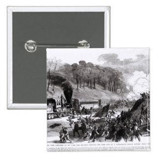 General Schenck con cuatro compañías Pin Cuadrado