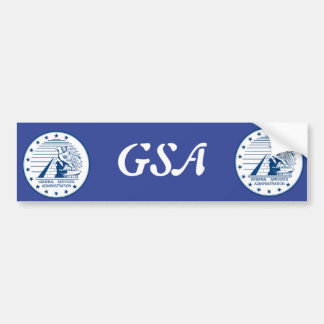 General Services Administration Bumper Sticker