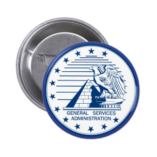 General Services Administration Pinback Button