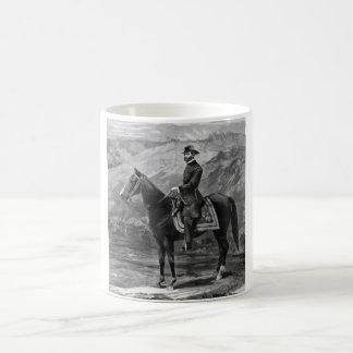 General Sherman a caballo Tazas