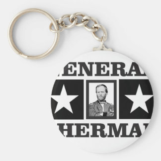 general Sherman art Keychain