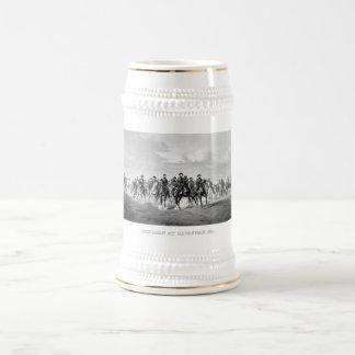 General Sherman At Savannah Georgia 18 Oz Beer Stein