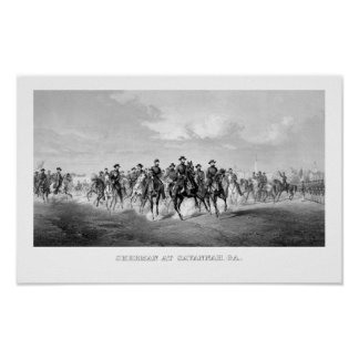General Sherman At Savannah Georgia Poster