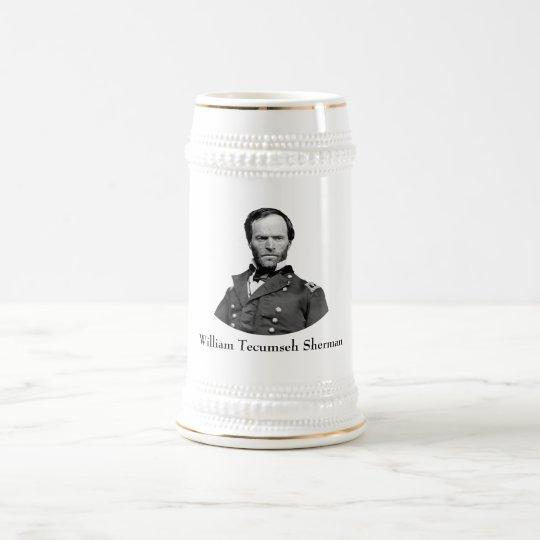 General Sherman Beer Stein