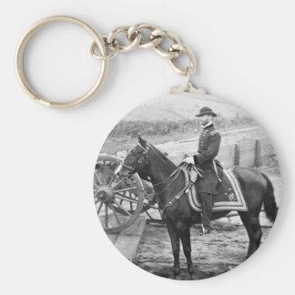 General Sherman en Atlanta, 1864 Llavero Redondo Tipo Pin