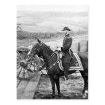 General Sherman en Atlanta, 1864 Postales