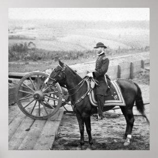 General Sherman en Atlanta, 1864 Póster