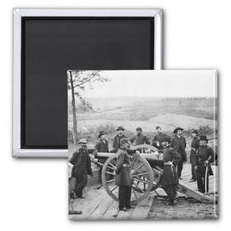 General Sherman in Atlanta, 1864 Fridge Magnets