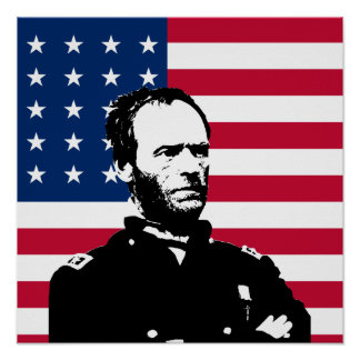 General Sherman Poster