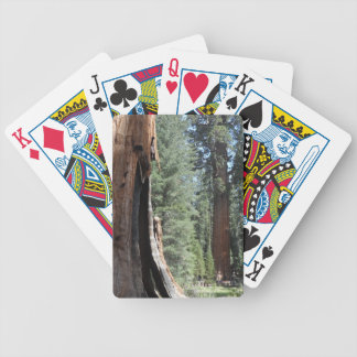General Sherman Tree- Sequoia National Park Bicycle Playing Cards