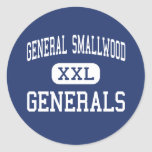 General Smallwood Generals indian Head Pegatina Redonda