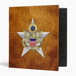 General Staff Branch Insignia 3 Ring Binder