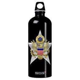 General Staff Branch Insignia Aluminum Water Bottle