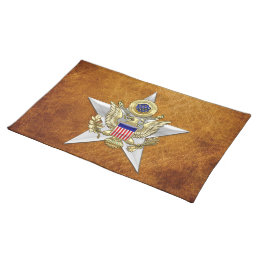 General Staff Branch Insignia Cloth Placemat