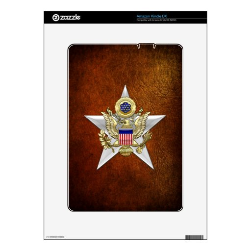 General Staff Branch Insignia Decals For Kindle DX