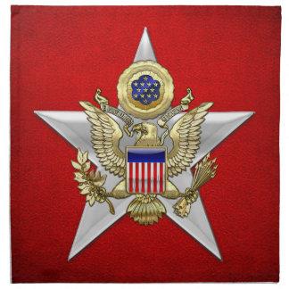 General Staff Branch Insignia Cloth Napkin