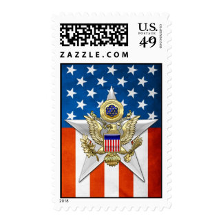 General Staff Branch Insignia Postage Stamp