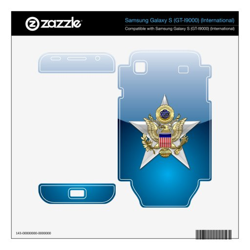 General Staff Branch Insignia Samsung Galaxy S Skin