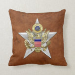General Staff Branch Insignia Throw Pillows
