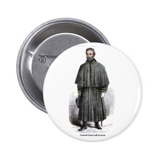 General Stonewall Jackson Button