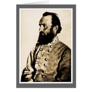 General Stonewall Jackson Card