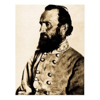 General Stonewall Jackson Post Card