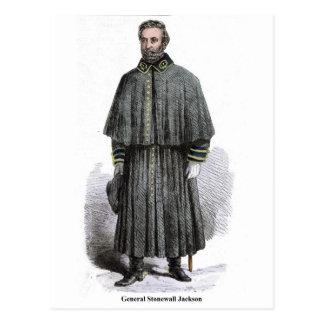 General Stonewall Jackson Postcard