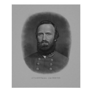 General Stonewall Jackson Poster