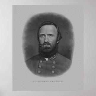 General Stonewall Jackson Póster
