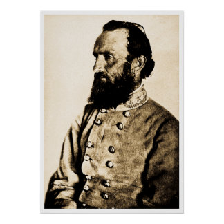 General Stonewall Jackson Posters