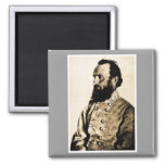 General Stonewall Jackson Refrigerator Magnets