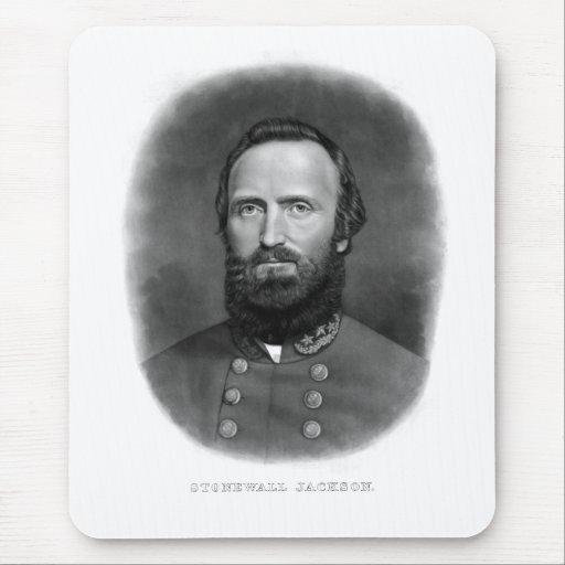 General Stonewall Jackson Tapete De Ratones