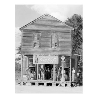 General Store & Post Office, 1935 Postcard