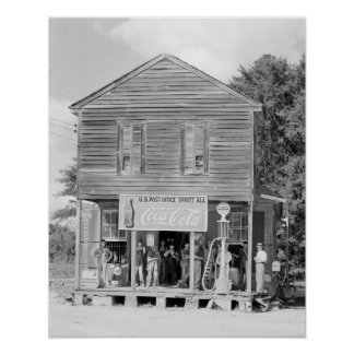 General Store & Post Office, 1935 Posters