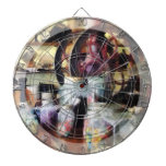 General Store With Candy Jars Dartboard With Darts