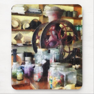 General Store With Candy Jars Mouse Pad