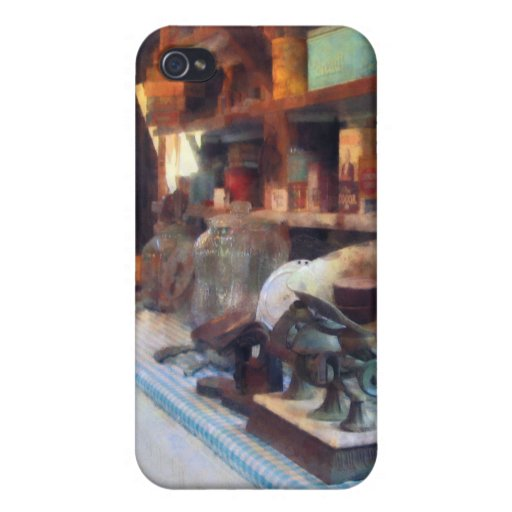 General Store With Scales Cover For iPhone 4