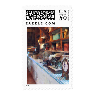 General Store With Scales Postage