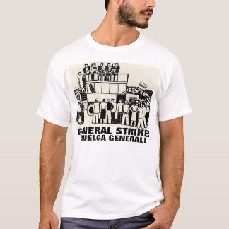 general strike t-shirt hulga general camiseta