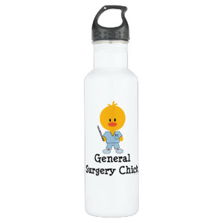 General Surgery Chick 24oz Water Bottle