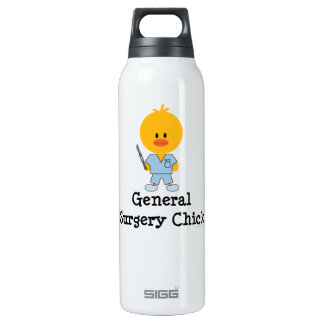General Surgery Chick 16 Oz Insulated SIGG Thermos Water Bottle