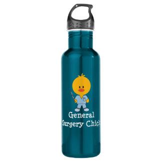 General Surgery Surgeon Chick 24oz Water Bottle
