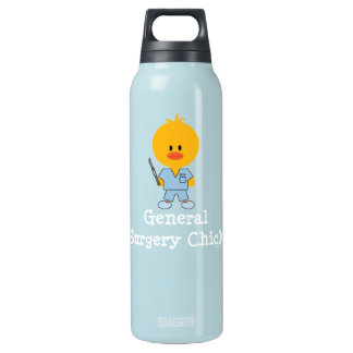 General Surgery Surgeon Chick 16 Oz Insulated SIGG Thermos Water Bottle