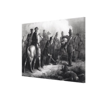 General Taylor at Buena Vista Canvas Print