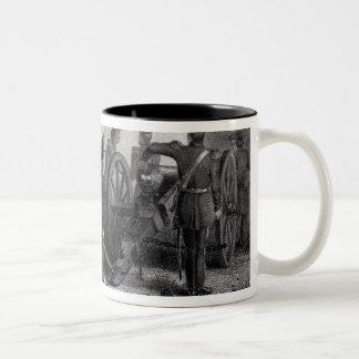 General Taylor at Buena Vista Two-Tone Coffee Mug