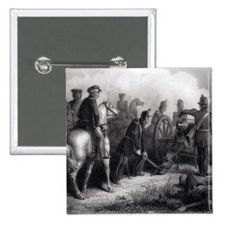 General Taylor en Buena Vista Pin Cuadrada 5 Cm