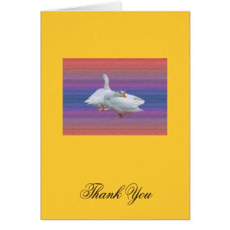 general  thank you note card