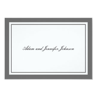 General Thank You Note Cards (Gray / White)