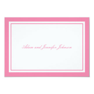 General Thank You Note Cards (Pink / White)