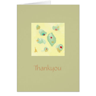 General>  Thankyou Note card